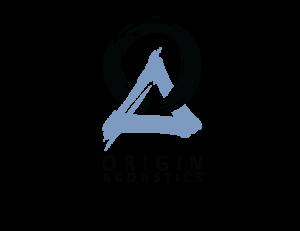 OriginAcoustics_Logo_Portrait_BlackBlue